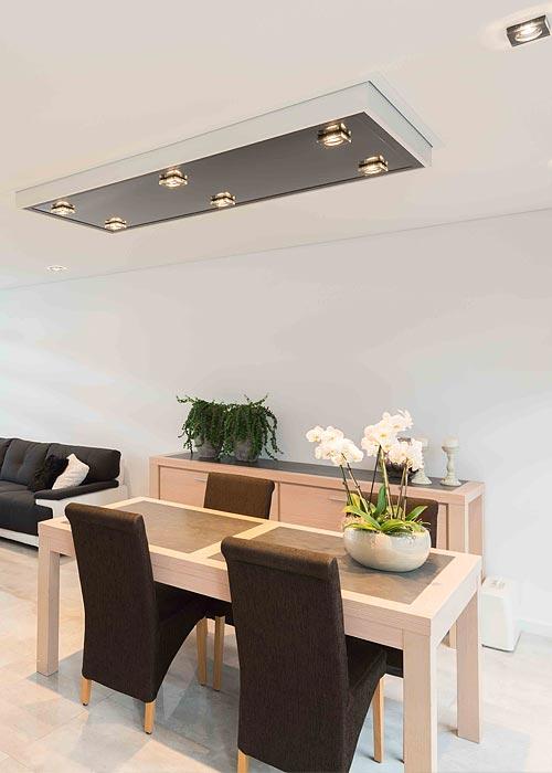 Decke renovieren mit einer Spanndecke von PLAMECO - ideal für alle Wohnräume - PLAMECO Rhein Sieg in Köln, Siegburg, Troisdorf und mehr