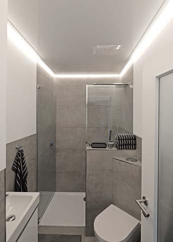 Badezimmerdecke mit plameco renovieren - Badezimmerdecke erneuern ...