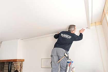Decke renovieren mit PLAMECO Spanndecken Köln - Decke erneuern und nie mehr streichen