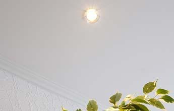 Deckenbeleuchtung - Wohnzimmerdecke - LED-Einbaustrahler PLAMECO RheinSieg