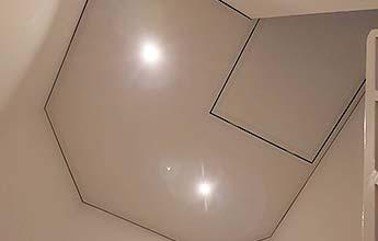 Decke Im Flur Oder Treppenhaus Mit Plameco Renovieren