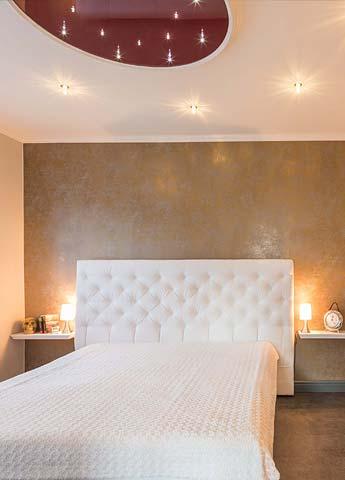 Schlafzimmerdecke mit Sternenhimmel PLAMECO